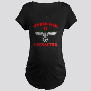 WWII german tshirt3 Maternity Dark T-Shirt