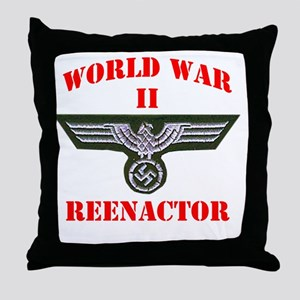 WWII german tshirt3 Throw Pillow