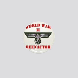 WWII german tshirt3 Mini Button