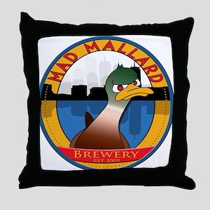 mmbcoasterflat2 Throw Pillow
