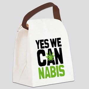 Cannabis Yes Canvas Lunch Bag