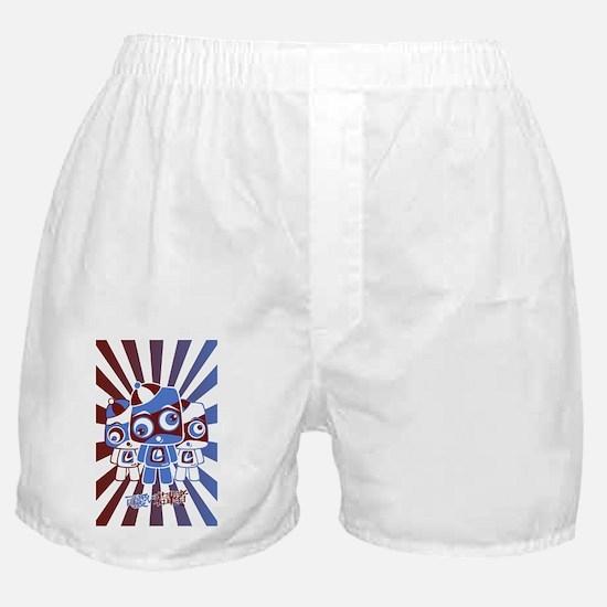 LocoPostcardStencil Boxer Shorts
