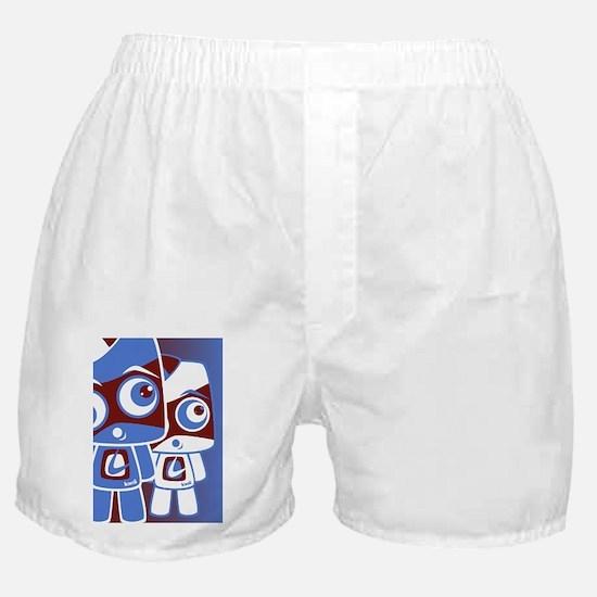 LocoGreetCardStencilP Boxer Shorts