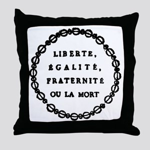 ART French Revolution 1 Throw Pillow