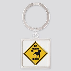 awareness alley Square Keychain