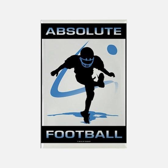 Football 12 Rectangle Magnet