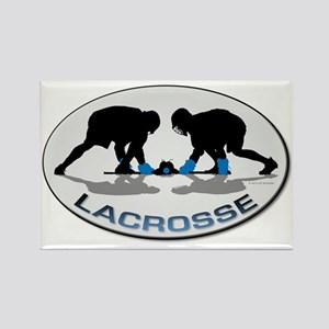 Lacrosse 36 Rectangle Magnet