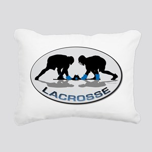 Lacrosse 36 Rectangular Canvas Pillow