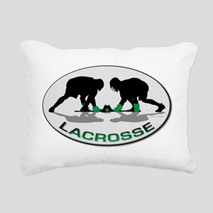 Lacrosse 35 Rectangular Canvas Pillow