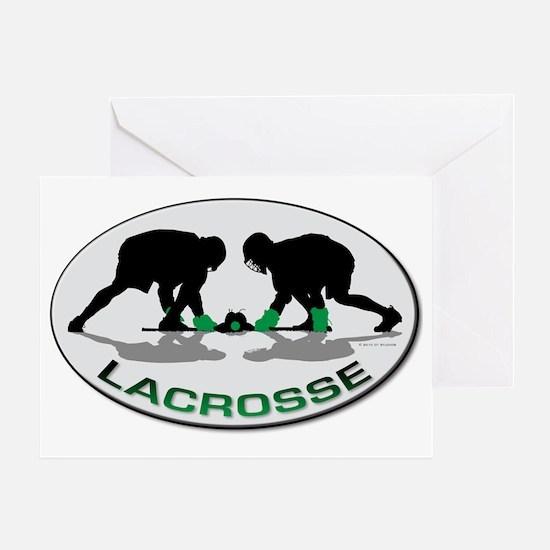 Lacrosse 35 Greeting Card