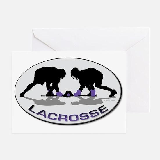 Lacrosse 33 Greeting Card
