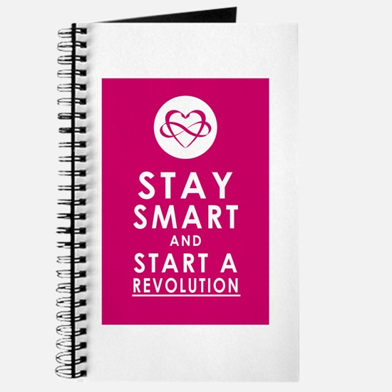 LOVE REVOLUTION Plum Pink Journal