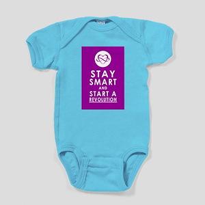 LOVE REVOLUTION Pretty Purple Baby Bodysuit