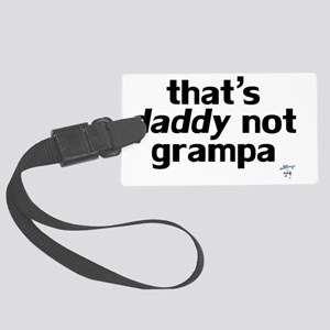ThatsDaddy Large Luggage Tag