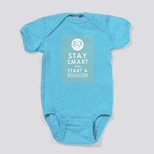 LOVE REVOLUTION Sky Blue Baby Bodysuit