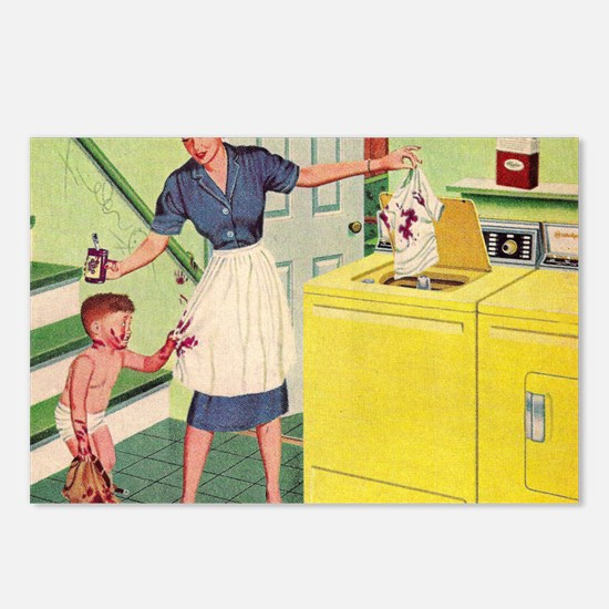 Mousepad_Laundry Postcards (Package of 8)
