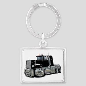 Mack Superliner Black Truck Landscape Keychain