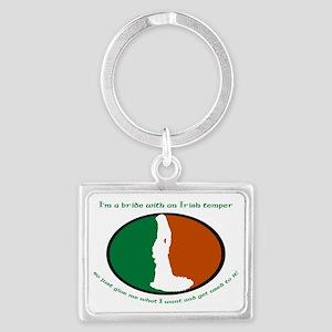 Irish-Bride-Temper Landscape Keychain