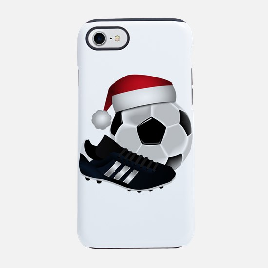 Christmas Soccer Ball with San iPhone 7 Tough Case