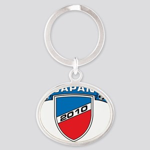 JAPAN_1 Oval Keychain