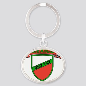 world_cup_2 Oval Keychain