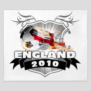 ENGLAND World Cup 2010 King Duvet