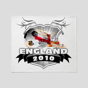 ENGLAND World Cup 2010 Throw Blanket
