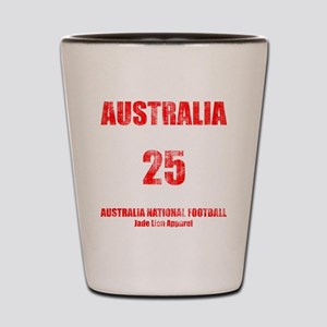 Australia football vintage Shot Glass