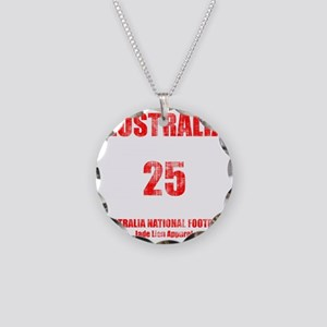Australia football vintage Necklace Circle Charm