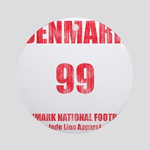 Denmark football vintage Round Ornament