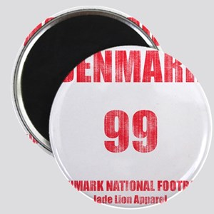Denmark football vintage Magnet