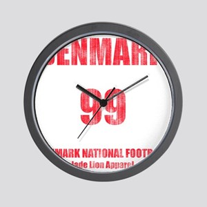 Denmark football vintage Wall Clock