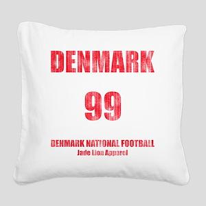 Denmark football vintage Square Canvas Pillow