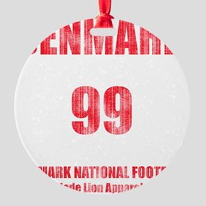 Denmark football vintage Round Ornament