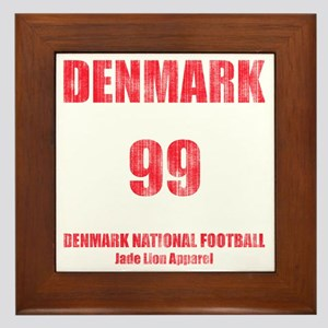 Denmark football vintage Framed Tile