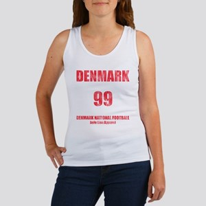 Denmark football vintage Women's Tank Top