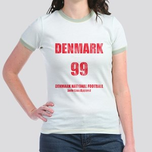 Denmark football vintage Jr. Ringer T-Shirt