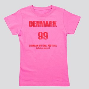 Denmark football vintage Girl's Tee