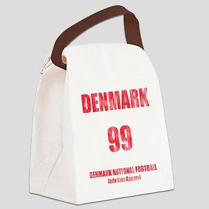 Denmark football vintage Canvas Lunch Bag