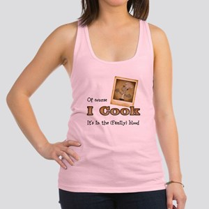 I cook Racerback Tank Top
