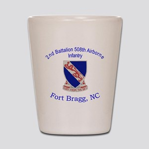 2nd Bn 508th ABN Shot Glass