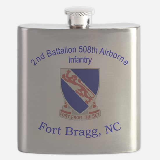2nd Bn 508th ABN Flask