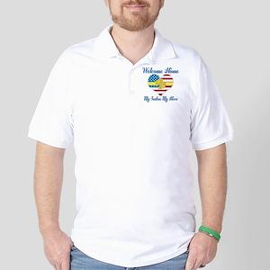 Welcome Home Sailor Golf Shirt