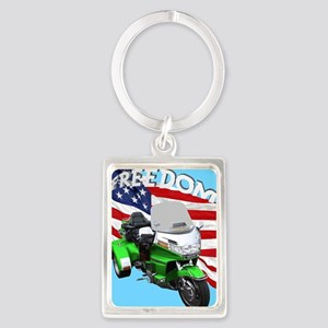 AB08 C-MOUSE FREE GREEN Portrait Keychain