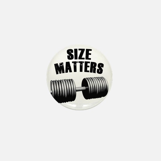 size-matters Mini Button