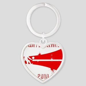Switzerland copy Heart Keychain