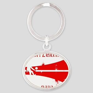 Switzerland copy Oval Keychain