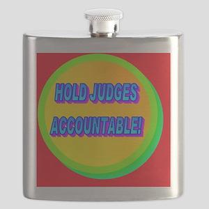 HOLD JUDGES ACCOUNTABLE!(wall calendar) Flask
