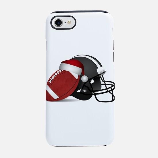 Christmas Football with Santa iPhone 7 Tough Case