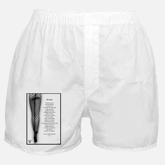 2-therulessmall Boxer Shorts